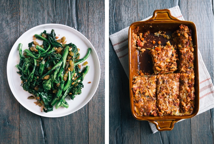 Broccolini-Lasagna