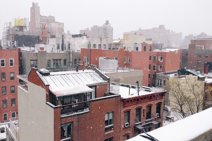 Snow-Rooftops